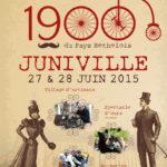 Affiche pour la fête 1900 du Pays Rethelois