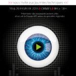 Invitation pour un événement audiovisuel chez NTC