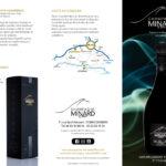 Plaquette publicitaire du champagne Minard et Filles