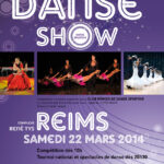 Affiche pour le gala de danse sportive à Reims