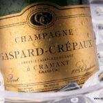 Bouteille de champagne Gaspard-Crépaux à Cramant