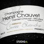Bouteille de champagne Henri Chauvet à Rilly-la-Montagne
