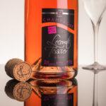Bouteille de champagne rosé Lecomte-Tessier à Avize