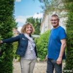 Reportage à la ferme du Châtel à Aulnay-l'Aître