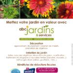 Flyer pour ABC Jardins et Services, paysagiste