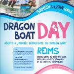 Flyer pour le Dragon Boat Day à Reims