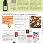 Newsletter pour le champagne Gabriel-Pagin