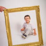 Séance photos de famille au studio