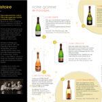 Plaquette pour le champagne André Delaunois à Rilly la Montagne