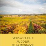 Plaquette pour le champagne Thierry Collin à Ludes