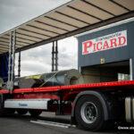 Reportage sur site pour le transport Picard
