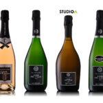 Shooting bouteilles pour le champagne Emile Leclère à Mardeuil